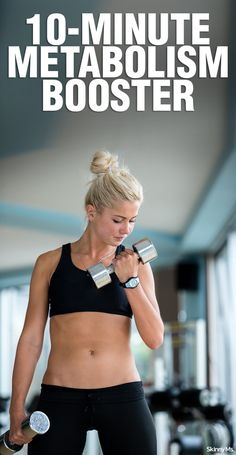 This 10-Minute Metabolism Booster will burn calories long after the workout is over!