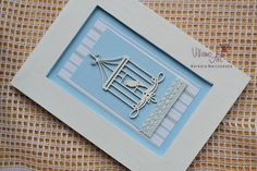 Items similar to FramedArt - shabby chic blue bird scrapbooking Home Decor art in frame by VillemoArt - on Etsy Art World, Blue Bird, Shabby Chic, Scrapbooking, Paper Crafts, Unique Jewelry, Frame, Handmade Gifts, Etsy