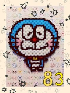 Doraemon hama perler by Ryoko