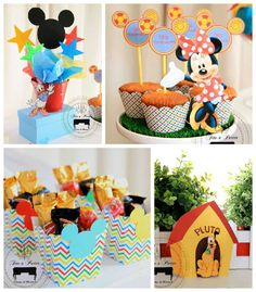 Mickey Mouse Clubhouse Themed Birthday Party via Kara's Party Ideas
