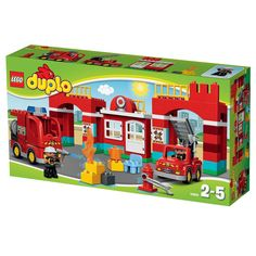 Add LEGO Duplo Fire Station 10593 to your LEGO Duplo Town collection. Get set…