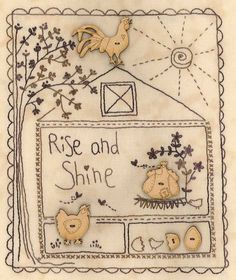 Rise and Shine from Lynette at the Little Quilt Store