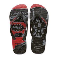 480fc7e70330 HAVAIANAS Men s STAR WARS RED Darth Vader Sandals Flip-Flop Size 11 12 NEW  NWT