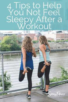 4 Tips to Help You Not Feel Sleepy After a Workout Exercise Nap after a workout Sleepy after workout Sleepy After Workout, Gym Workouts, At Home Workouts, Workout Tips, Workout Fitness, Feeling Sleepy, Fitness Tips For Women, Running Tips, Beginner Running