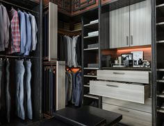 Custom Walk In Closets, Walk In Closet Design, Closet Designs, Closet Space, Casual Wear, Modern Furniture, Custom Design, How To Wear, Organizers