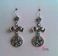 Orecchini pendenti in argento tibetano, by Roxy Bijoux, 7,50 € su misshobby.com