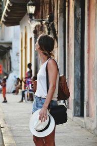 Casco Viejo, street look Panama City , Panama