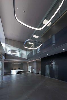 Mercedes Benz Italia Offices - Rome - 1