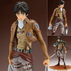 Attack On Titan - Figurine Eren Jaeger (Cleaning Edition) 1/8 - Brave-Act Collection
