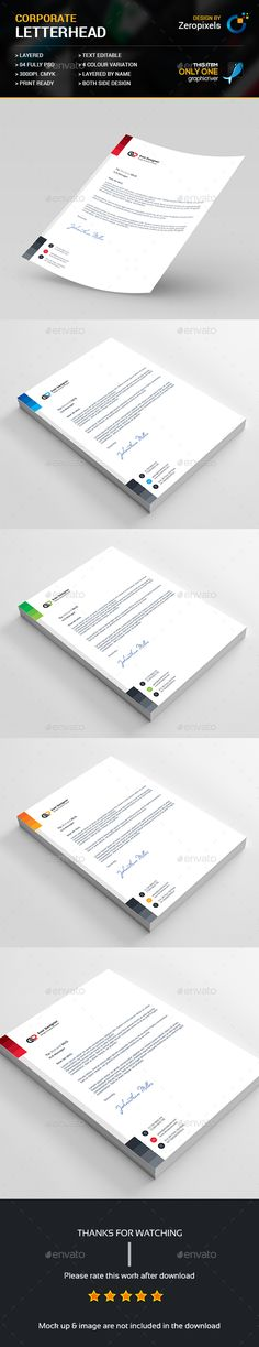 Letterhead Template 27 Coloring pages Pinterest Letterhead - letterheads templates free download