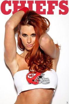 Chiefs redhead hottie