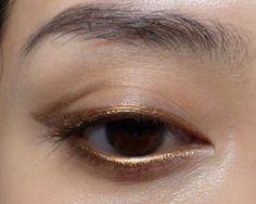 The Makeup Box: Easy Bronze-Liner Look