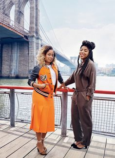 Phoebe Robinson and Jessica Williams. Their podcast is a MUST!