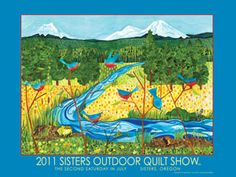 Sisters Outdoor Quilt Show, July 14, 2012.