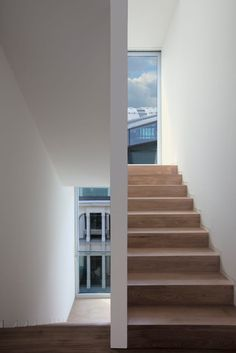 Stairs - David Chipperfield Architects | Townhouse O-10 in Berlin