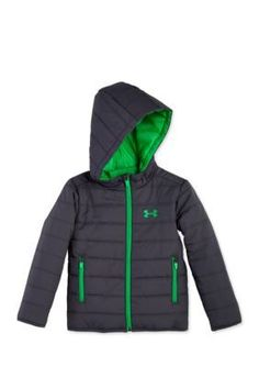 Under Armour  Hooded Puffer Jacket Boys 4-7