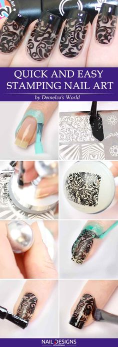 Quick and Easy Stamping Nail Art