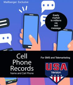23 million leads for SMS marketing Text Messages, Marketing And Advertising, Numbers, Campaign, Phone, Telephone, Text Messaging, Texting, Mobile Phones