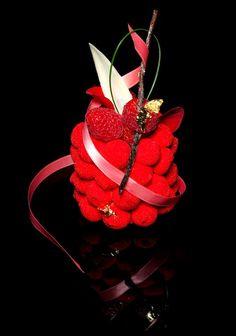 Café Pouchkine - Biscuit framboise-fraise des bois