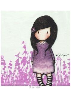 purple Gorjuss   Home Clothing Baby Babywear Gorjuss Baby Vest Top - Shrinking Violet