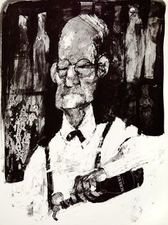 Erich Sokol (1933-2003гг). Рисунки из книги «American Natives»