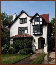 Indian Village: 1485 Burns, Jacob Danziger House--Detroit MI, built in 1910. | Flickr - Photo Sharing!