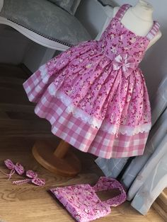 ideas for crochet baby girl dress pattern doll clothes Baby Girl Dress Patterns, Baby Dress Design, African Dresses For Kids, Little Girl Dresses, Kids Frocks Design, Kids Gown, Frocks For Girls, Girl Doll Clothes, Dress Clothes