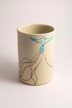 Kathryn Mitchell Ceramics, Heart Line series: http://katyintheclouds.blogspot.com.au/