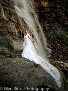 Bridal Veil Falls, UT. photo by Glen Ricks Photography
