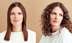 Straight or #CurlyHair? What do you choose? Check out our take on the matter: https://goo.gl/xTSlPZ #hairstyle #wavyhair #ElizabethDay