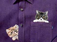 「neko shirt ねこ刺繍」の画像検索結果