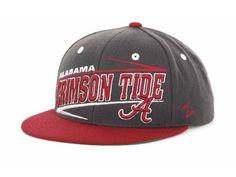 0fdbb8a5 Alabama Crimson Tide Zephyr NCAA Snaz Snapback Cap Hats Alabama Crimson  Tide Hat, Crimson Tide