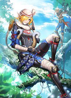 Impa and Sheik, Hyrule Warriors / Zelda Musou artwork by Muse (Rain Forest)