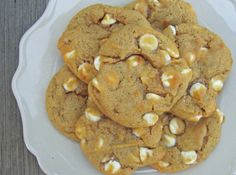 White Chocolate Pumpkin Spice Cookies: Photo - 1 | Just A Pinch Recipes
