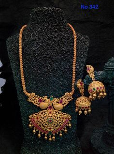 My collections India Jewelry, Jewelry Sets, Antique Jewelry, Beaded Jewelry, Gold Pendent, Gold Jewellery Design, Necklace Designs, Wedding Jewelry, Jewelry Collection