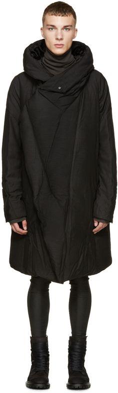 Julius - Black Down Coat