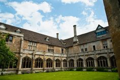 Place: Lacock Abbey Cloisters Location: Wiltshire, England...