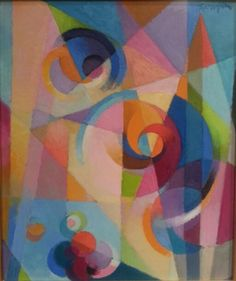 Gestation #3, Stanton MacDonald Wright