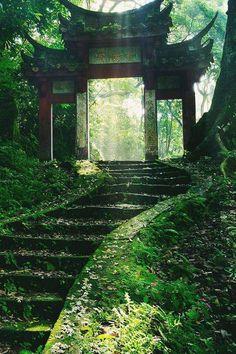 antico giardino giapponese