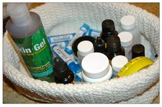 Putting together a homeopathic first aid kit  By mom4life