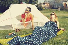 Compostable, Single-Use Festival Tents Made from Biodegradable Materials