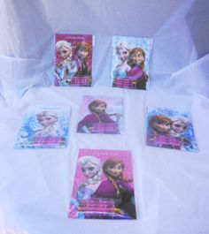 Set Of 12 Disney Frozen Princess Elsa And Anna By MYBDPcreations 1599