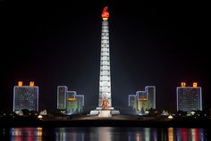 Tower of Juche Idea - Pyongyang