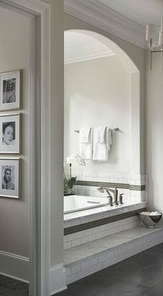 South Shore Decorating Blog: Sunday Dreaming With Lots of Beautiful Rooms Like the bath section (maybe update)
