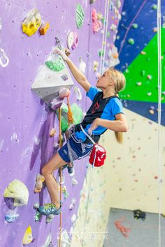 Climbing with Cherry Foodie Monster Chalk Bag by Crafty Climbing @craftyclimbing