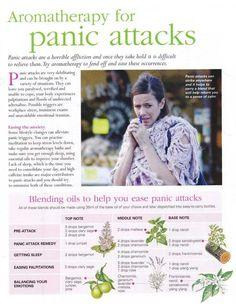 Aromatherapy for panic attacks