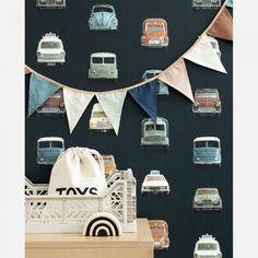 Wallpaper Online, Kids Wallpaper, Dark Wallpaper, Dark Backgrounds, Kidsroom, Little Man, Designer Wallpaper, Car Show, Room Inspiration