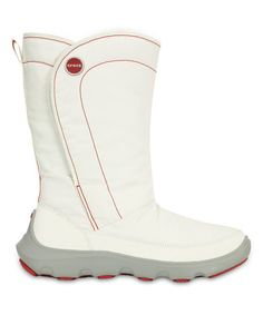 Another great find on #zulily! White & Light Gray Duet Busy Day Boot - Women #zulilyfinds