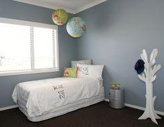 Resene Clouded Blue is a gorgeous kids bedroom colour!