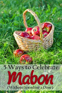 Penniless Pagan: 5 (More) Ways to Celebrate Mabon  #Pagan #Wiccan #Mabon #Equinox #Autumn #Fall #Sabbat #September